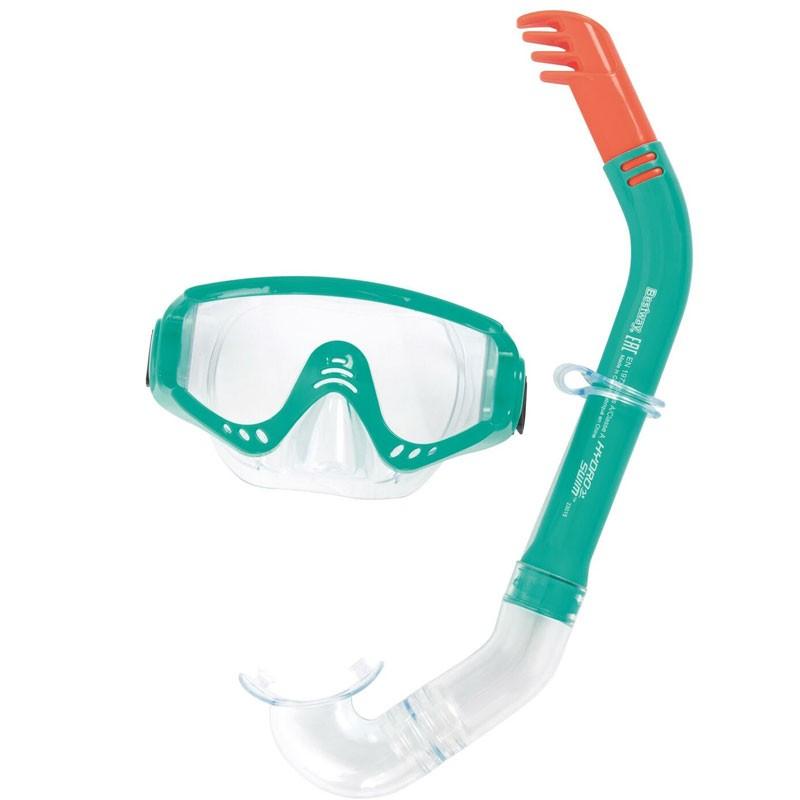 Set Maschera e Boccaglio Secret Bay Snorkel 2 Colori Assortiti +14 anni 200195