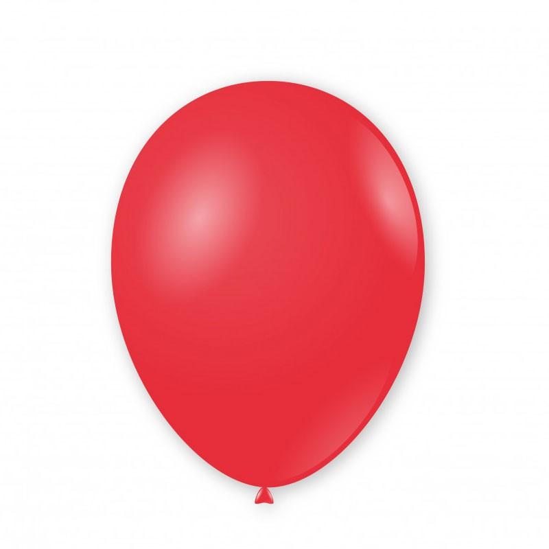 Palloncini pastello 11/12 - 30cm Rosso 19 G110 19 100pz.