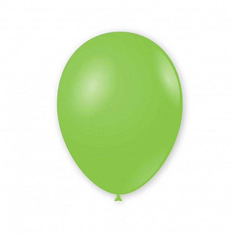 Palloncini pastello 11/12 - 30 cm Verde 18 G110/18 100pz