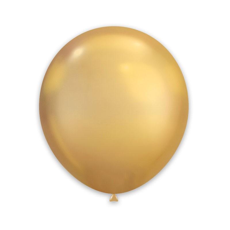 Palloncini Cromati oro 12 cm  AC50/88 100 pz.