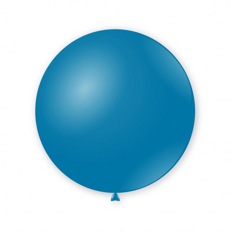 Palloncini pastello 15 - 38cm blu 52 50 pz G150/52