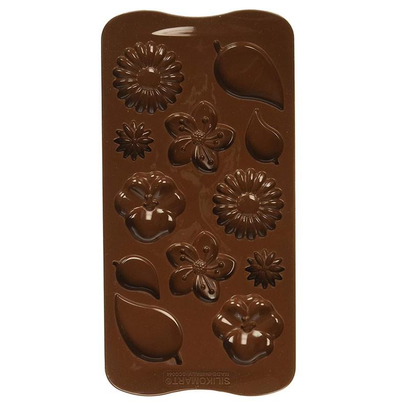stampo in silicone per cioccoalto choco garden SCG044 20.3 x 1.3 x 11.4 cm