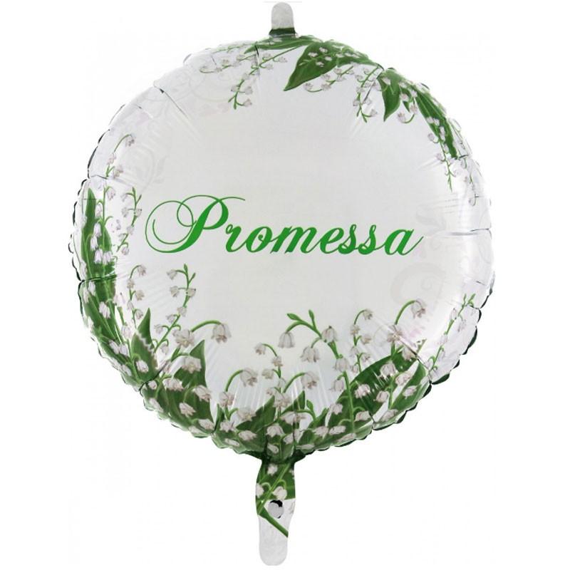 Palloncino Foil Promessa 45 cm MEMPR