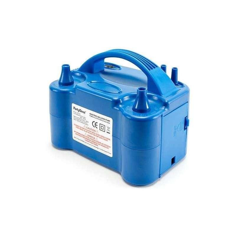 Elettropompa con due ugelli 20 x 13 x 13 cm compressore per gonfiaggio palloncini GHT-501