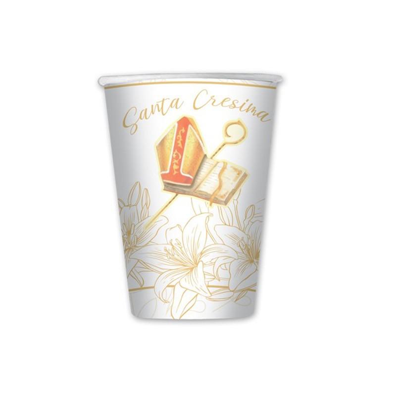 8 bicchieri Cresima flower 74570