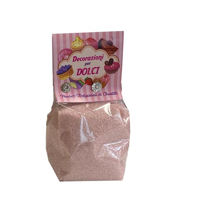 sabbiolina cipria 200 gr. decorazioni per dolci