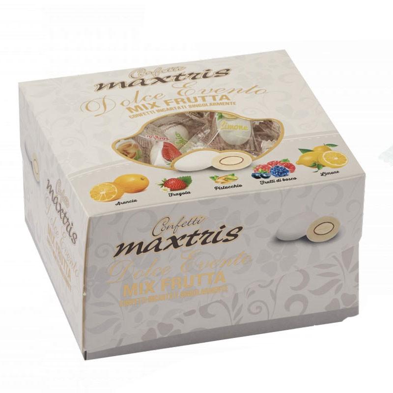 Confetti Maxtris Dolce Evento Mix frutta bianchi 500g 232158