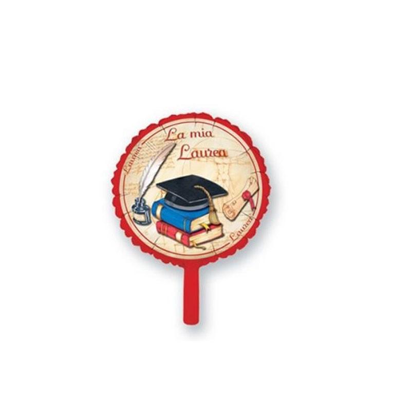 Palloncino foil mini shape la mia laurea MES17 23 cm 9 \' 12 pz