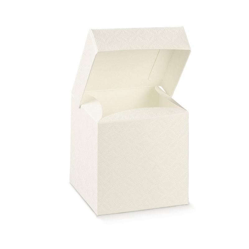 scatolina in cartoncino con coperchio 165 x 165 x 140 mm 1 pz 17312