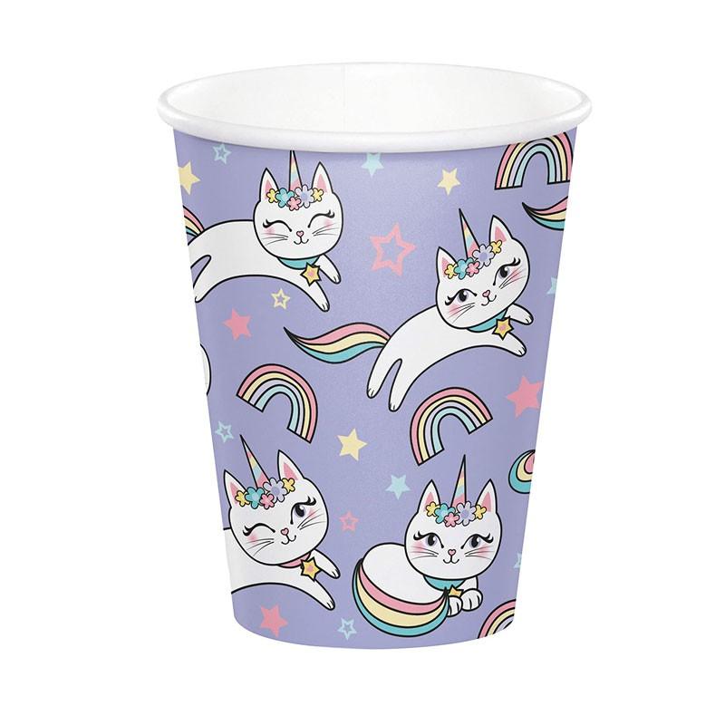 bicchieri sassy unicorn 8 pz. 346253