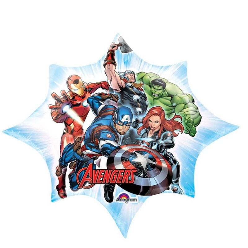 Mini Foil Avengers Assamble stella 34658