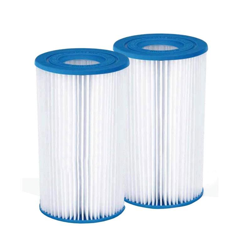 Filtro di carta per piscina a cartuccia tipo A/C Summer Waves e Summer Escape 20,4x10,4 cm 2 pz. 205055