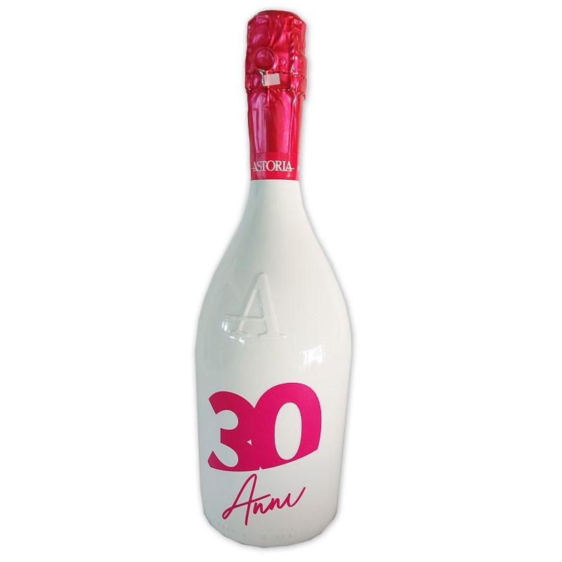 Bottiglia prosecco Astoria brut 0.75 LT pink 30 anni