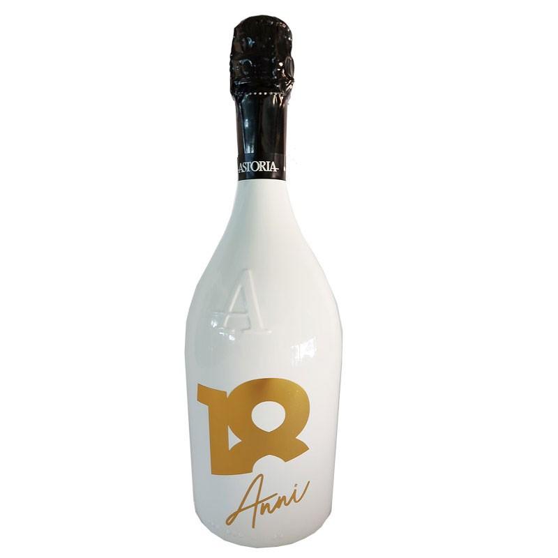 Bottiglia prosecco Astoria brut 0.75 LT white 18 anni