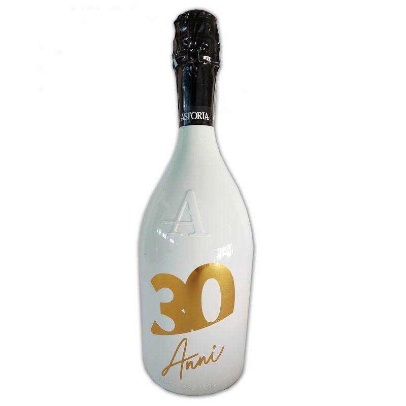 Bottiglia prosecco Astoria brut 0.75 LT white 30 anni