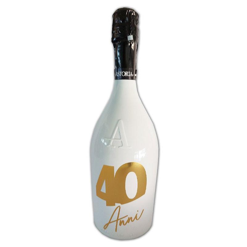 Bottiglia prosecco Astoria brut 0.75 LT white 40 anni
