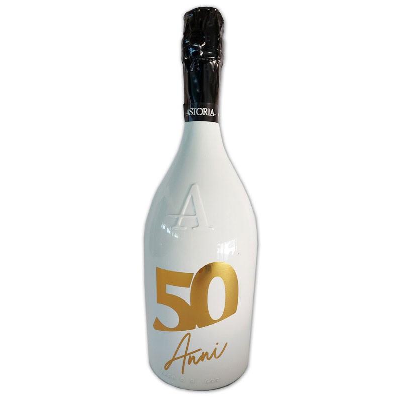 Bottiglia prosecco Astoria brut 0.75 LT white 50 anni