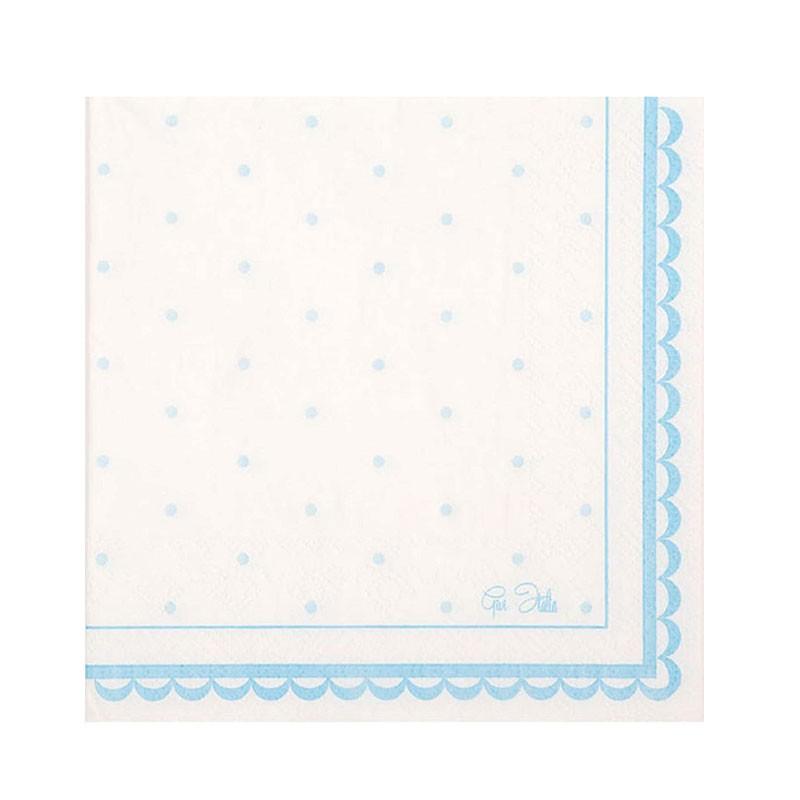 tovaglioli Petit azzurro16 pz. 63753