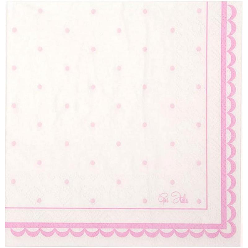 tovaglioli Petit Rosa 16 pz. 63747