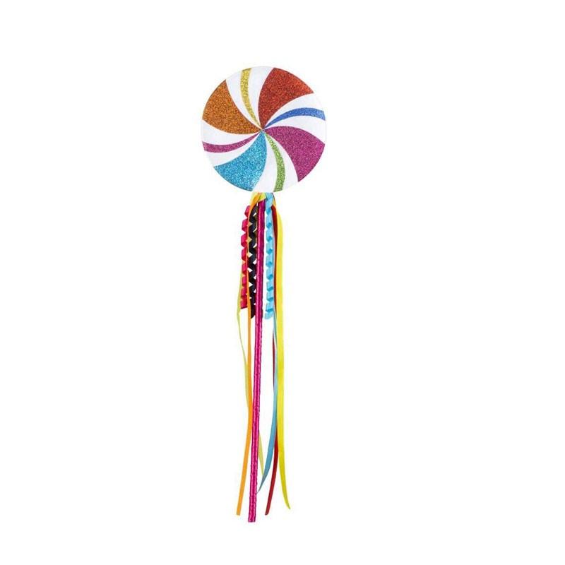 lecca lecca finto da travestimento lollipop 45 cm 500491
