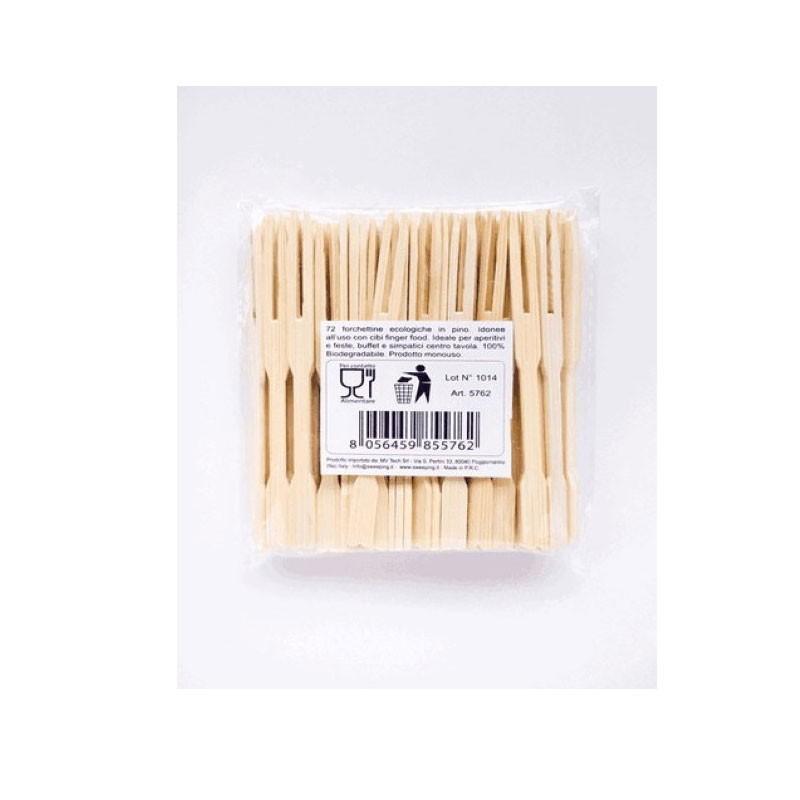 Forchettine Bamboo 72 PZ 8,5 CM 5762