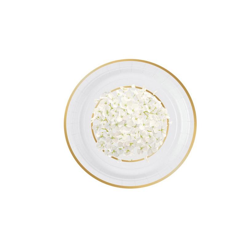 Piatto dessert ortensia 18 cm 8 pz. 5IT541011