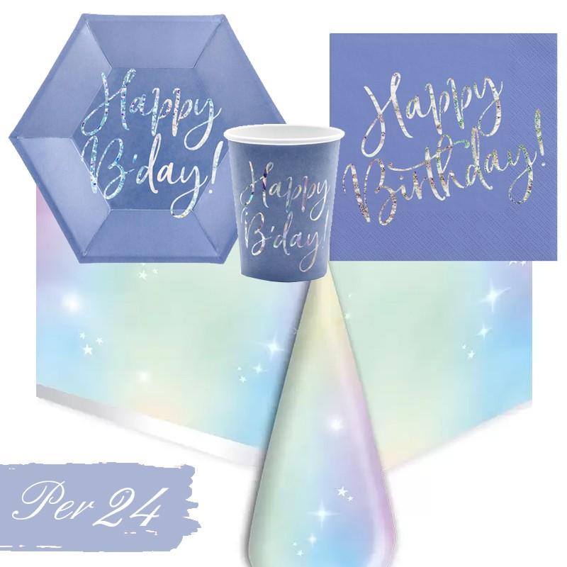 KIT N.16 HAPPY B'DAY BLU...