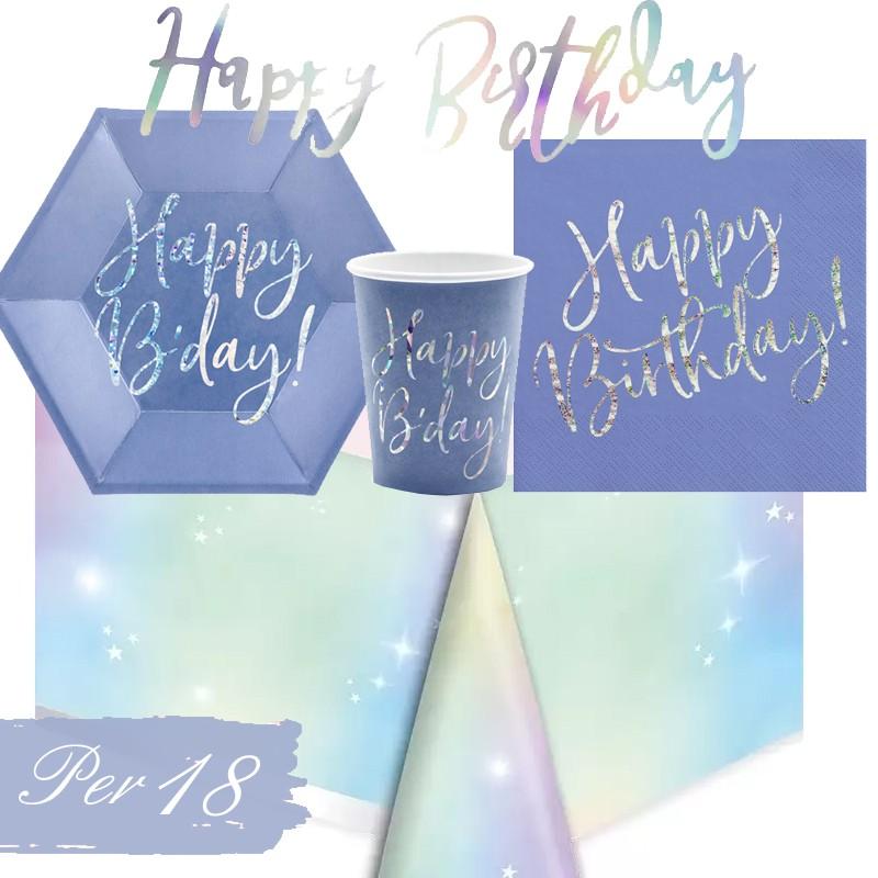 KIT N.13 HAPPY B'DAY BLU...