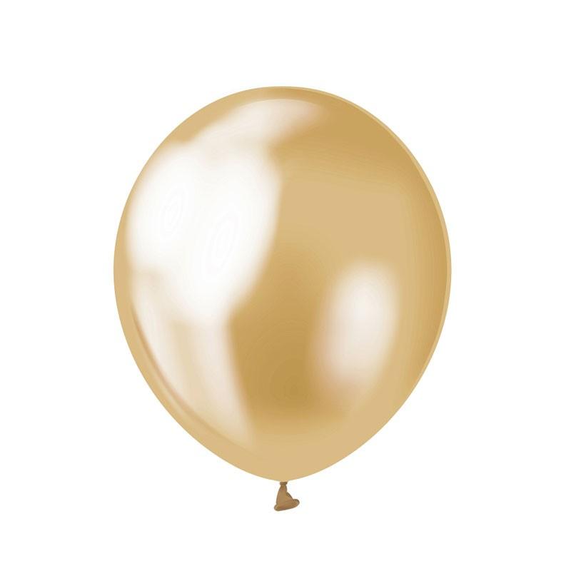 Palloncini Beauty & Charm oro platino 12/ 50 pz