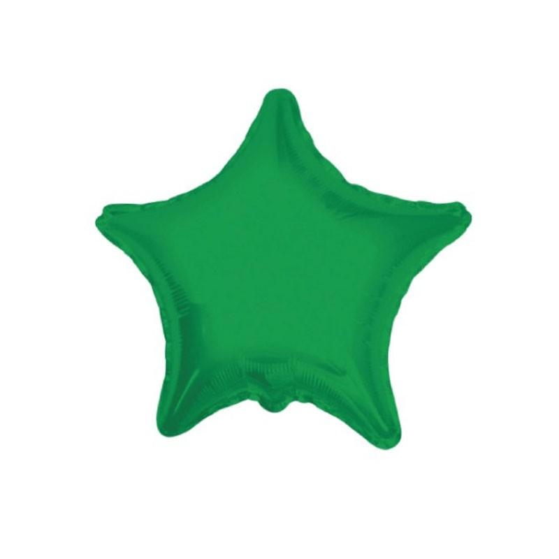 Foil Stella Verde Smeraldo 18 45 cm 17857-18/01