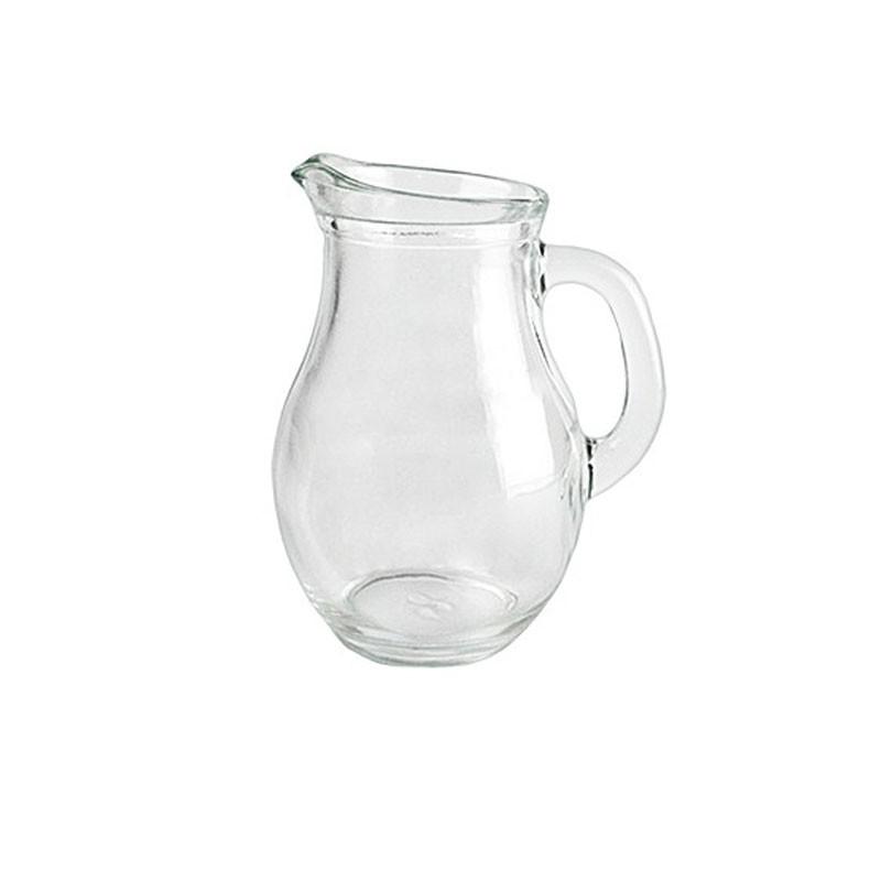 brocca di vetro 0,50 litri 15x10x10cm 054573