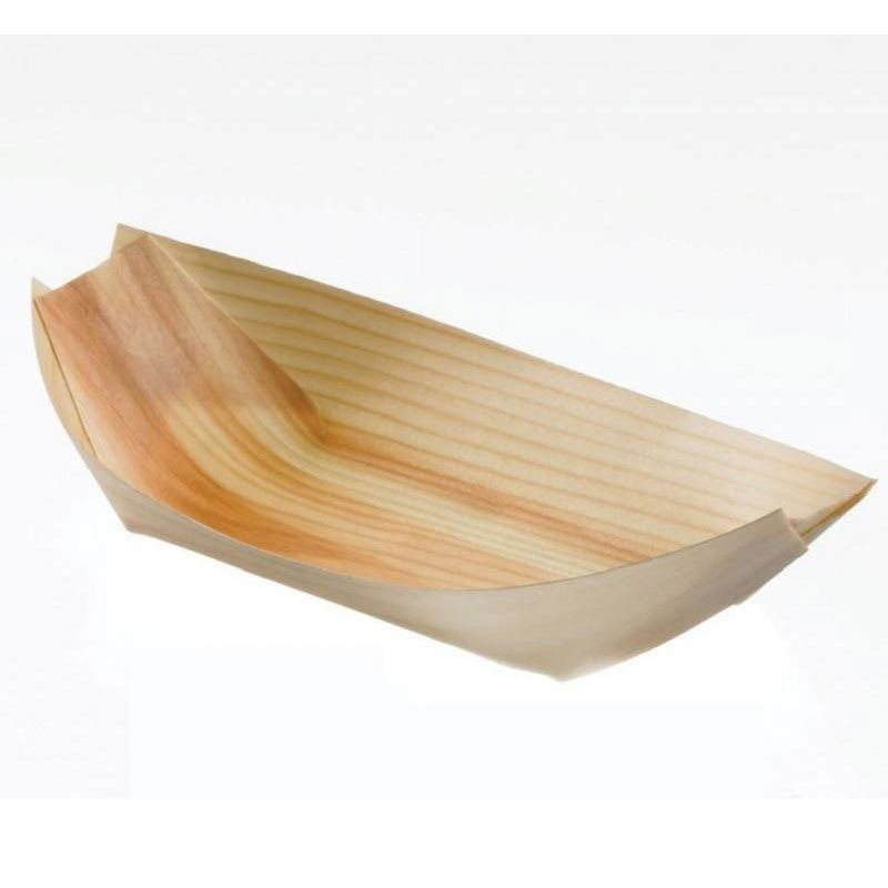 Piroghe in legno S0050.S  b.15 p.7,5 50 pz