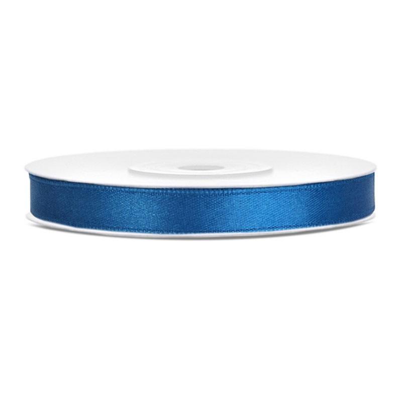 Nastrino Raso blu 6 mm x 25 m TS6-001