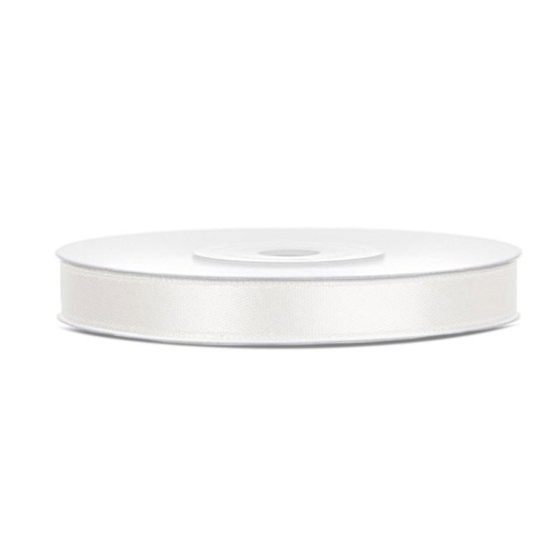 Nastrino Raso crema chiaro 6 mm x 25 m TS6-079J