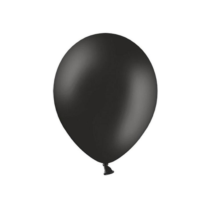 Palloncini pastello nero 27 cm 50 PZ SB12P-010-50
