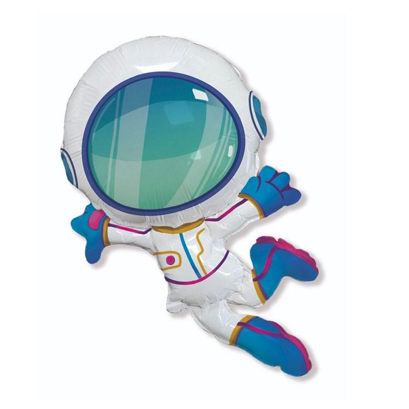 palloncino foil sagomato astronauta 901847 60 cm 24\'\'