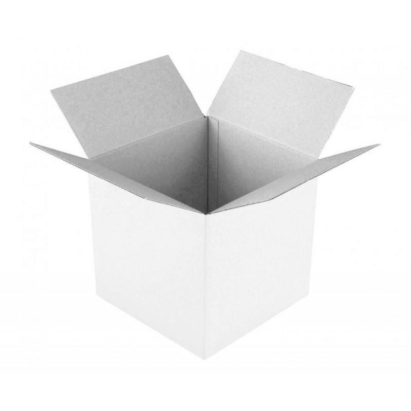 Scatola di cartone 50 x 50 x 50 cm bianca GA-KK50