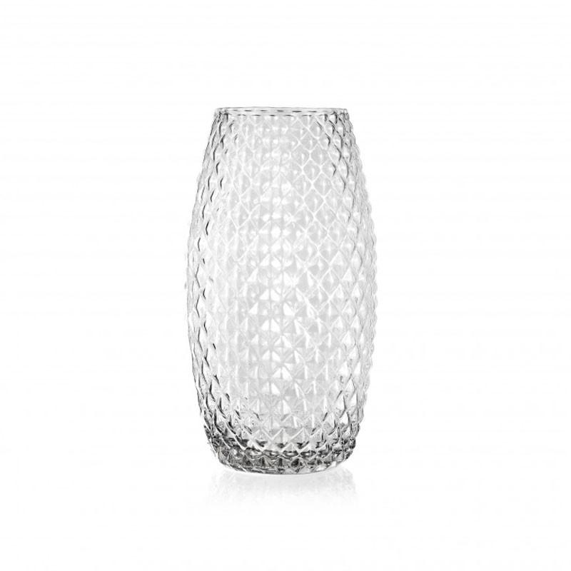 Vaso diamond  h 26 x 13 cm FR 80/26