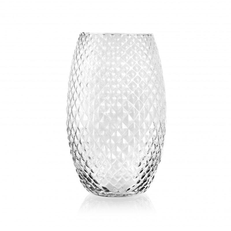Vaso diamond  h 30 x 18 cm FR 80/30