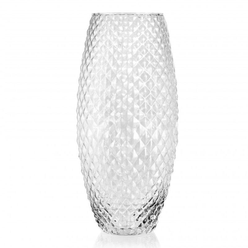 Vaso diamond  h 37 x 18 cm FR 80/37