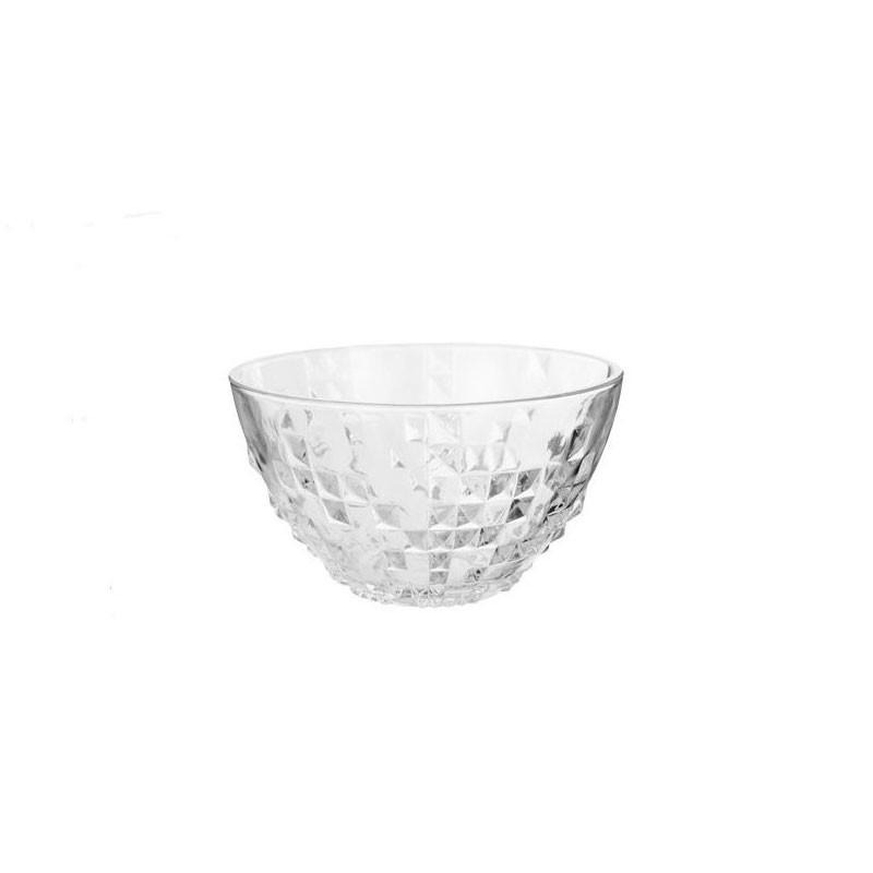 Bowl in Vetro ovalo 18cm 1056261 pz
