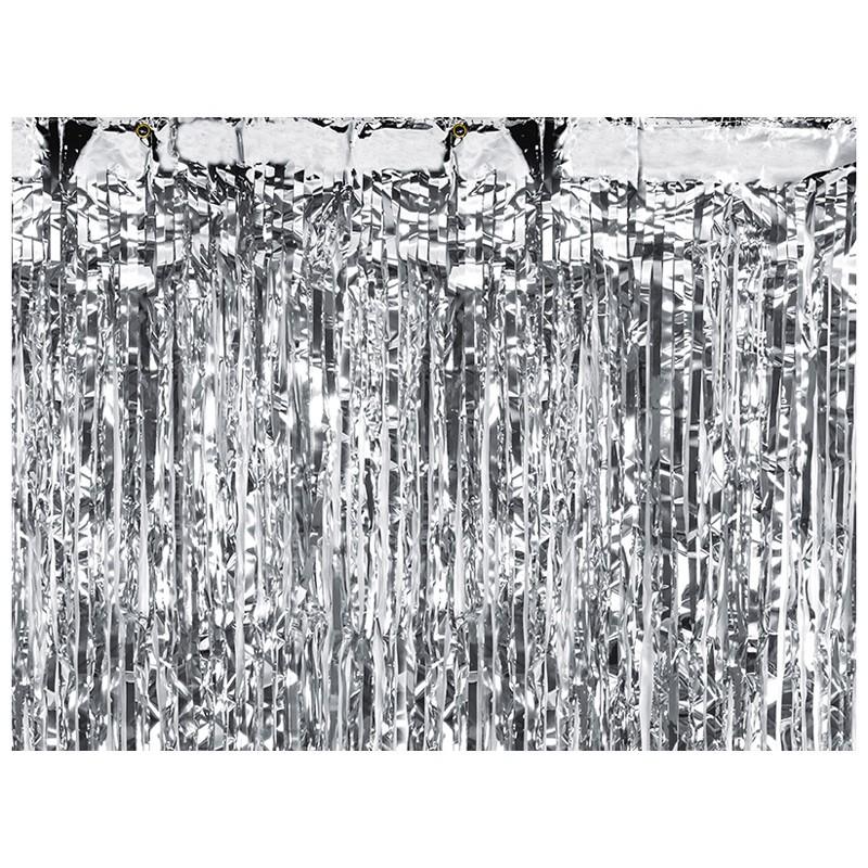 tenda decorativa Argento 90 cm x 2,5 m CRT-018