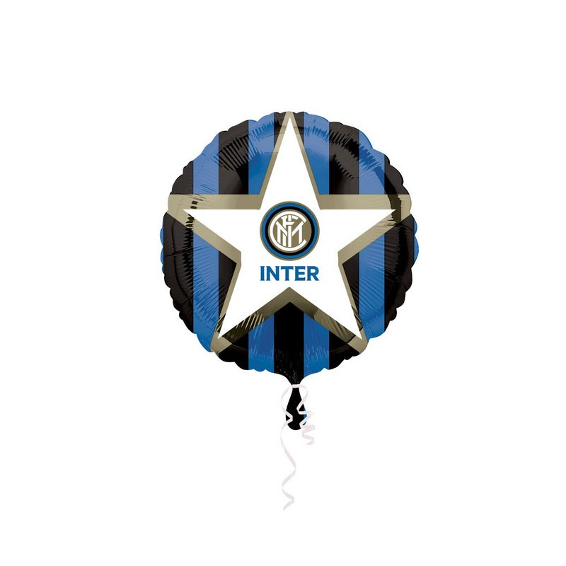 palloncino foil tondo Inter 43 cm 6B800002