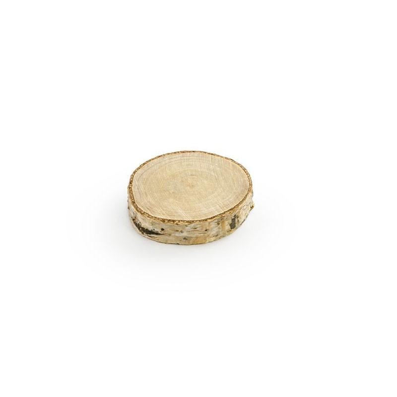 20 segnaposto in legno diam 4,5- 6,5 cm x 1 1 cm h.WDP3