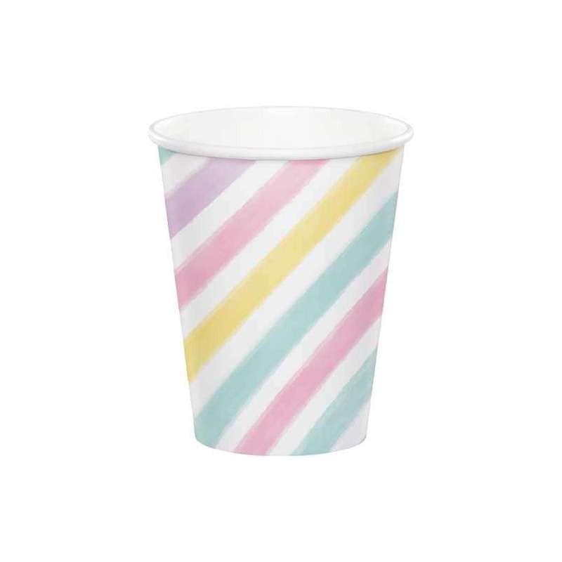 Bicchieri unicorn sparkle 8 pz  329301