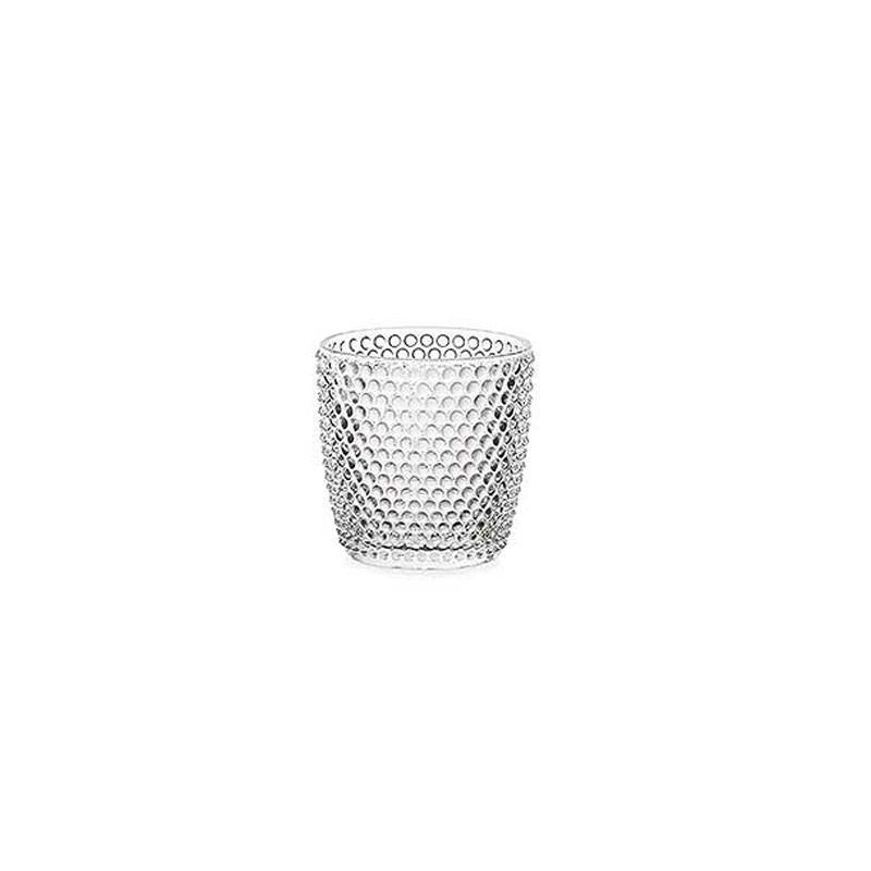 mini vaso luxor in vetro  7,5 cm FR136/07