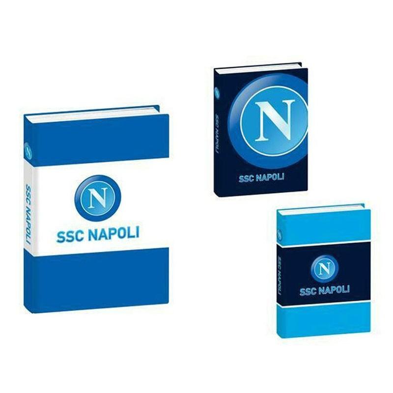 diario agenda 12 mesi Napoli ssc modelli assortiti