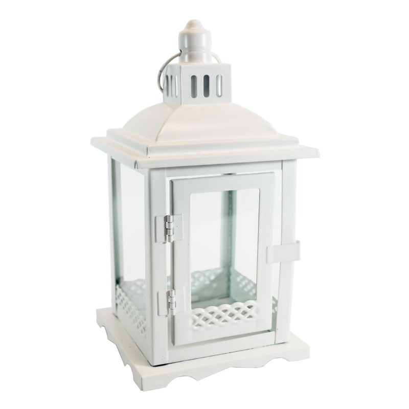 lanterna bianca in metallo 94103