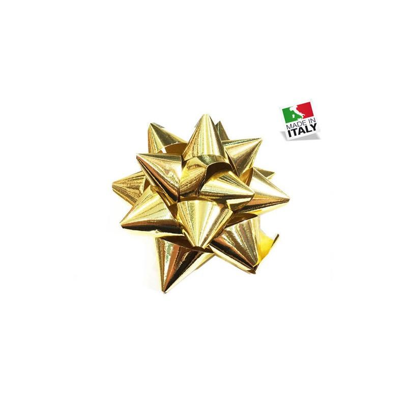 100 Coccarde Stella oro 10...