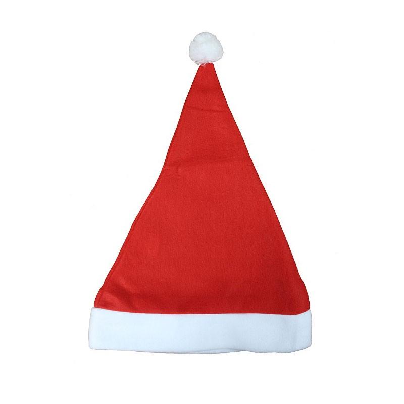 Cappello da Babbo Natale in pile 29 x 41 cm NW-CMIL